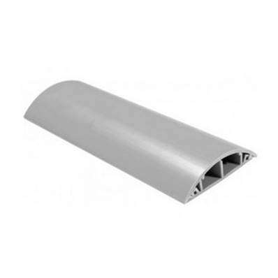 Passage de câble PVC rigide gris 8 câbles Ø 6mm larg 70 mm long.1m