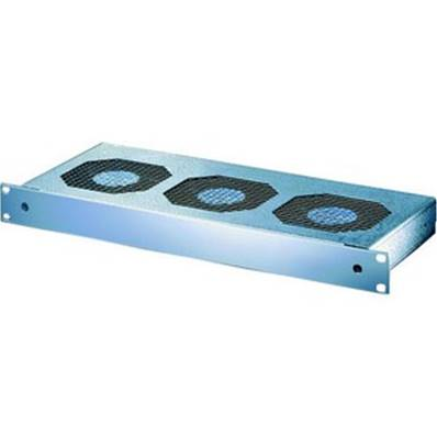 "Ventilation 19"" 1U 230V alu 3mm 3 ventilateurs"
