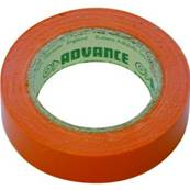 10 rubans isolant électrique Advance AT7 15 mm x 10 m orange