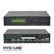 "VivoLink - Commutateur ""scaler"" 5 in (3HDMI, 2 VGA) HDMI 1.4/HDBaseT"