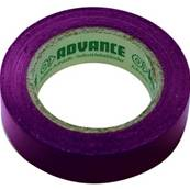 10 rubans isolant électrique Advance AT7 15 mm x 10 m violet