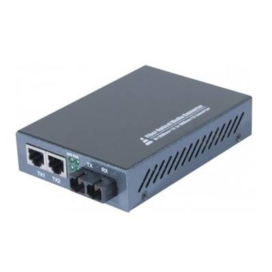 Convertisseur fibre optique SC 100FX - 2 ports RJ45 10/100 Ethernet
